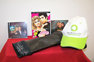 OLIVIA NEWTON-JOHN Autographed and Worn Boots - Grease  Xanadu  Physical