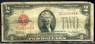 Marvellous 1928-D United States $2 Note FA64