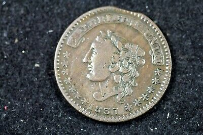 1837 - MAYCOCK & Co HT289 Hard Times Token!!  #H17914