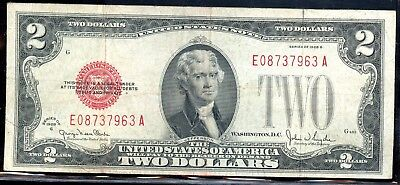 Marvellous 1928-G United States $2 Note FA65