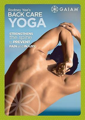 Rodney Yee's Backcare Yoga For Beginners DVD Fitness Workout Exercise Video NEW