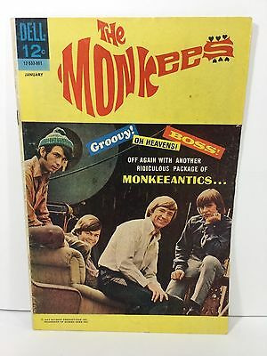 The Monkees, 12-533-801, No.8. Dell Comic, Jan 1968, 7.5 VF-