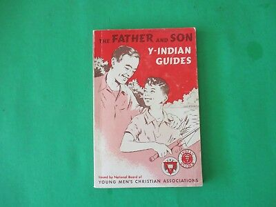 vintage 1966 Father & Son Y-Indian Guides  Christian Associations YMCA book