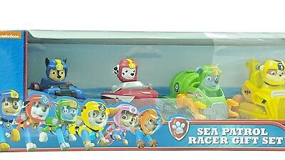 Paw Patrol Sea Patrol Racers 6-Pack Vehicle Gift Set working wheels NEW for  2018 c4d8a79e62a8