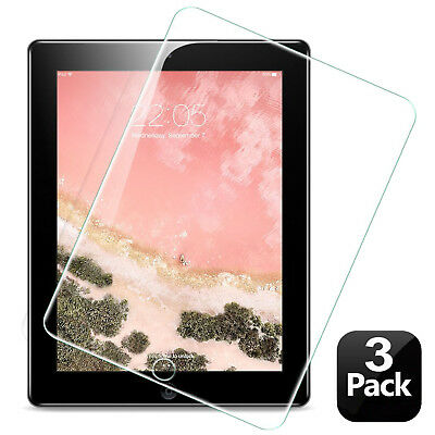 [3-Pack] High Definition HD-Clear PET Film Screen Protector fr iPad 6th Gen 2018