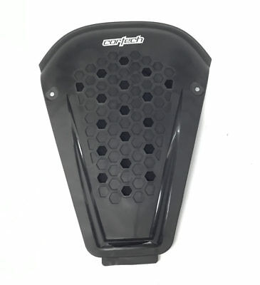 Cortech Accelerator Replaceable Back Protector Plate Black