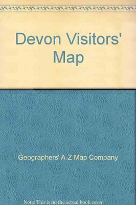 Devon Visitors' Map by Geographers' A-Z Map Company Sheet map, folded Book The