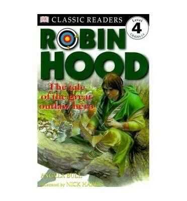 Robin Hood (DK Readers Level 4) Paperback Book The Cheap Fast Free Post