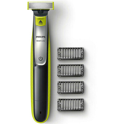 Philips QP2530 OneBlade Cordless Beard/Hair Trimmer/Shaver w/4 Comb Heads