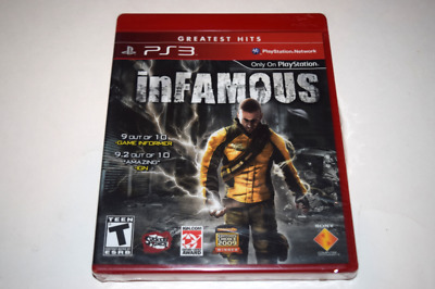 PS3 INFAMOUS GREATEST Hits game and manual VG - $3.95 | PicClick on infamous pc, infamous box cover, infamous festival of blood, infamous cole, infamous rating, infamous ps4, infamous first light trailer, infamous wallpaper, infamous first son's, infamous zeke, infamous map, infamous x 360, infamous 2 gameplay, infamous dc, infamous psp, infamous characters, infamous series, infamous movie, infamous 1 cheats, infamous second son,