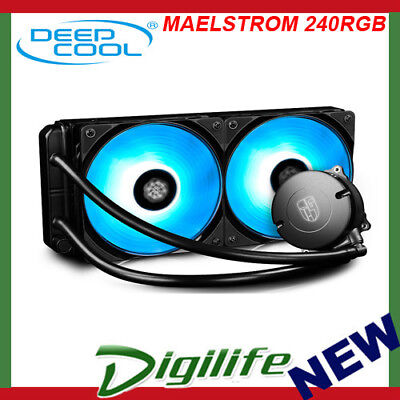 Deepcool Gamer Storm Maelstrom 240 RGB AIO Liquid Cooling Water Cooler RGB LED