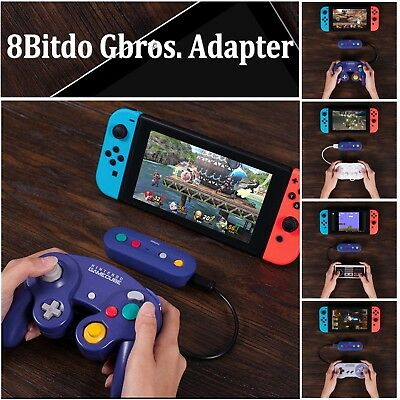 8Bitdo Gbros. Wireless Bluetooth Adapter For Nintendo Switch GameCube SNES Wii