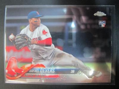 Rafael Devers 2018 Topps Chrome Update Rookie Card RC #HMT23 Red Sox MW