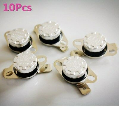 10Pc Temperature Switch Control Sensor Thermal Thermostat 35-160 Degrees KSD301