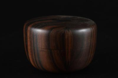 G871: Japanese Wooden TEA CADDY Natsume Chaire Container Tea Ceremony