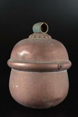 G998: Japanese Old Copper BIG BELL Buddhist art
