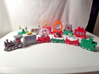 M&M Express Train Complete Set Of (12) Holiday 2017 McDonald's Happy Meal Toys
