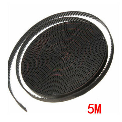 5/10m 6mm 2GT GT2 RF Fiber Glass Reinforced Rubber Timing Belt for 3D Printer US