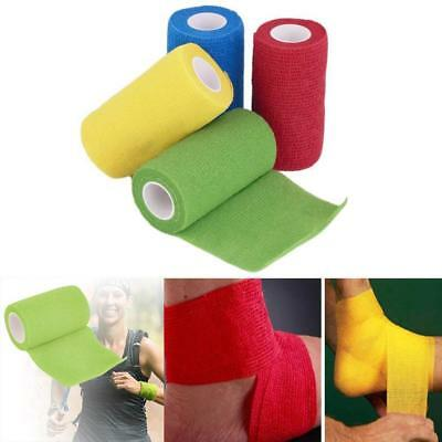 Cohesive Sports Sport Self Adhesive Athletic Support Bandage Strap Tape 5cm