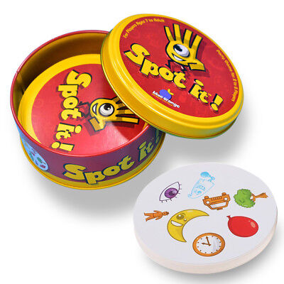 For Spot it Kids Game High Quality Paper Dobble it for Family Board Game Cards