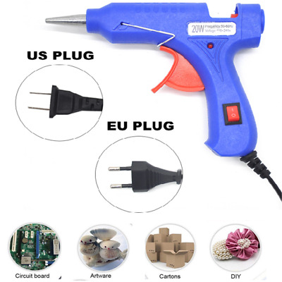 20W Professional Mini Hot Melt Glue Gun Electric Heating Art Craft Repair Tool