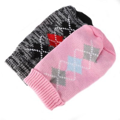 Dog Knit Sweater Chihuahua Clothes Winter Knitwear Pet Puppy Jumper Coat Outwear