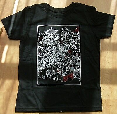 JAMES JEAN T-Shirt PAGODA Black - petit enfant - taille 10  big bad wolf