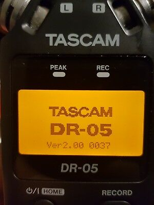 TASCAM DR-05 Solid State Recorder Potable Hanheld Stereo Recorder (Version 2)