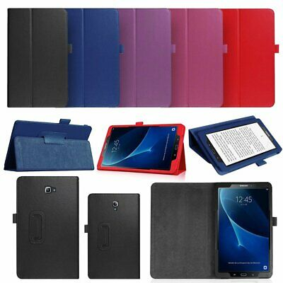 "For Samsung Galaxy Tab A 2018 10.5"" 2017 8.0"" 2016 10.1"" Flip Leather Case Cover"
