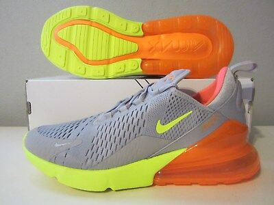 (AH8050 012) DS Nike Air Max 270 atmosphere grey/volt sz 12 Mens