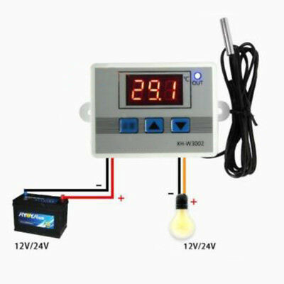 New Temperature Thermostat 10a 220/12/24v -50~110℃ Digital Led Control Switch
