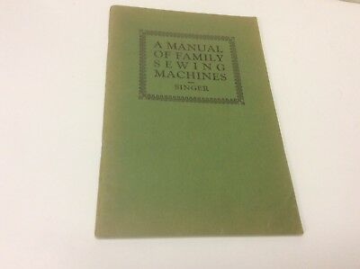 SINGER A MANUAL OF FAMILY SEWING MACHINES 1929 Attachments