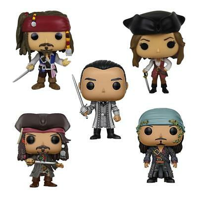 Funko Pop! Pirates Of The Caribbean 5 Captain Jack Will Turner Swan Figurine A