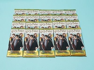 Panini Harry Potter Contact Trading Cards 20 Booster / 100 Karten Tierwesen