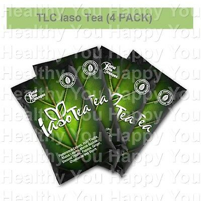 Iaso Tea 1 Month Supply 4 WEEK - 4 PACKS - TOTAL LIFE CHANGES