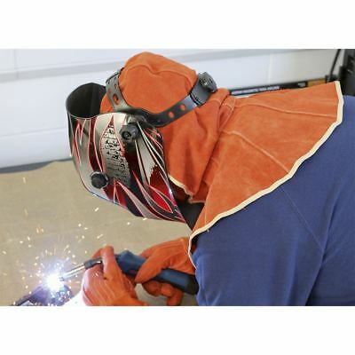 Sealey SSP145 Leather Welding Safety Hood Heavy-Duty