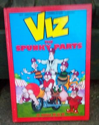 """1990 Viz Annual """" The Spunky Parts """" Great Condition Throughout"""