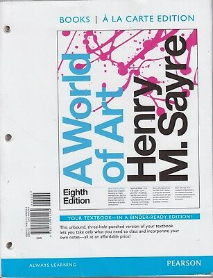World of Art, a, Books a la Carte Edition by Henry M. Sayre (2015, Ringbound)