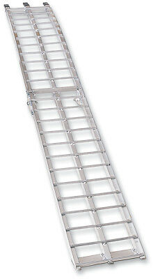 Moose Racing Arched Aluminum Folding Ramp 12� W X 90� L Silver (3910-0017)