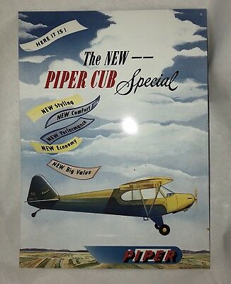 The New—Piper Club Special Metal Sign