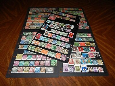 Germany stamps - HUGE lot of 283 mint hinged and used early issues - super !!