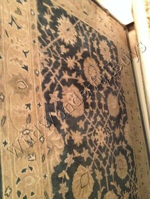 Pottery Barn Eva Rug 4x6 Persian Style Tufted Wool New In Wrapping