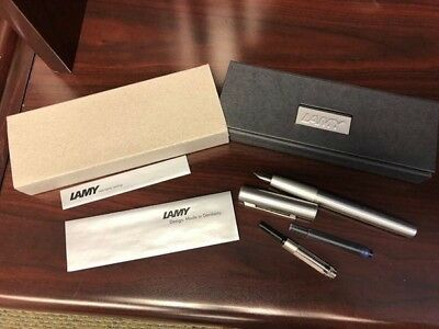 Lamy Aion Fountain Pen, fine nib