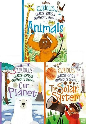 Curious Questions and Answers Series 4 Books Collection Set (Miles Kelly)