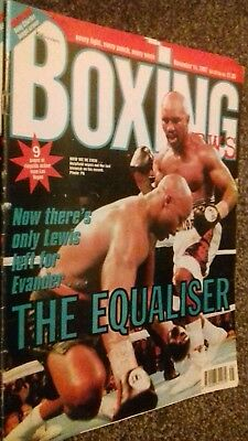 Nov 14Th 1997 Boxing News Holyfield -Moorer/Fabrice Tiozzo -Nate Miller