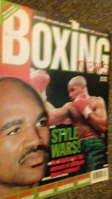 Nov 7Th 1997 Boxing News Holyfield  V Moorer Preview Michael Brodie