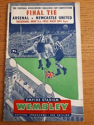 1952 F.A.Cup Final - Arsenal v Newcastle United