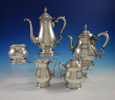 Prelude by International Sterling Silver Tea Set 5pc (#2922)