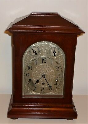 Antique Bracket / Mantle Clock With Chimes Fully Working