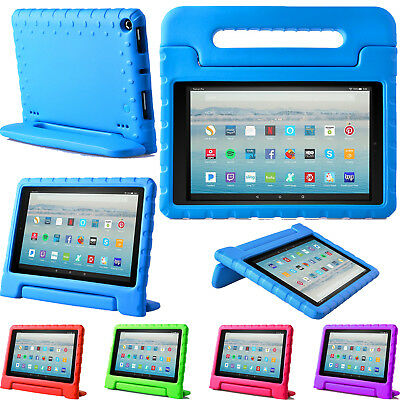 CASE For Amazon Fire HD 10 2019 Tablet with Alexa Kids Shockproof Handle Cover